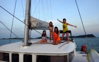 group gathering yacht charter