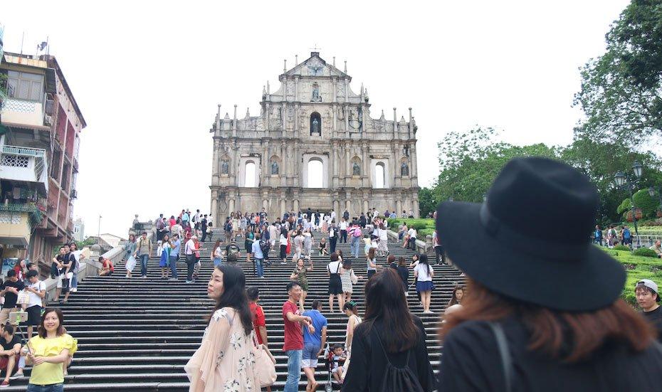 Macau's Ruins of St Paul